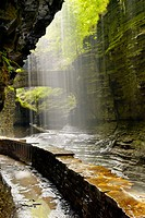 Falls, Watkins Glen State Park, New York, USA