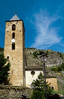 Parish church. Canillo. Andorra