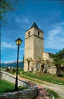 Parish church. Lles. Cerdanya. Lleida province. Catalonia. Spain.