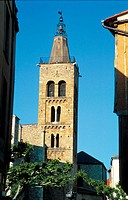 Saint-Pierre church. Prades. Languedoc-Rousillon. France
