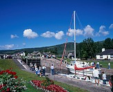 Augustus, Boat, boats, Britain, Caledonian, Caledonian Canal, canal, daytime, EU, European, Fort, Fort Augustus, Gre