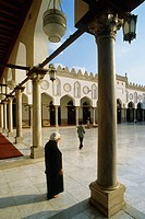 Al-Azhar Mosque, the oldest University in the world (972 AD). Cairo