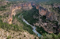 Hoces del Cabriel Natural Reserve, Minglanilla. La Manchuela, Cuenca province. Castilla-La Mancha, Spain