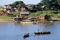Ayeyarwady River. Mandalay, Myanmar (Burma)