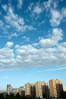 Sky with clouds. Valencia. Spain