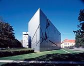 Berlin, Jüdisches Museum/ Daniel Libeskind, 1994-98, Fassade