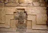 Monte Alban, Grab Nr. 104/ Grabskulptur