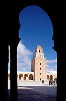 Kairouan, Sidi Oqba Moschee/ Ausblick Platz