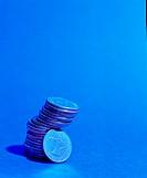 Pile of Dirham coins