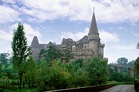castle, hunedoara, romania