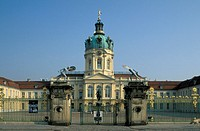 schloss charlottenburg castle, berlin, germany