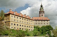 castle Cesky Krumlov (Krumau), South Bohemia, Czech Republic