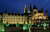 The Abbaye aux Hommes (Men's Abbey). Caen. Calvados. France