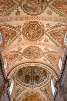 Church vault. Hospital de Los Venerables. Sevilla. Andalucia. Spain