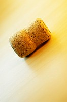 High angle view of a cork