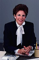 Portrait of a Businesswoman Smiling