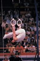 Pike Position on Rings in Gymnastics