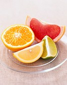 Citrus Fruit on Plate