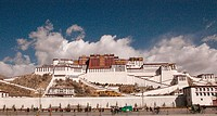 The Potala, home and palace of the Dalai Lama. Tibet.