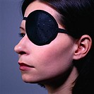 Eye Patch on Woman