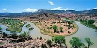 The Rio Chama, Santa Fe, New Mexico