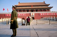 Tiananmen Square, Beijing. China