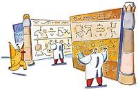 Examining Hieroglyphics