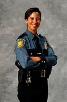 Portrait of Police Officer