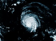 Satellite view of Hurricane Marilyn