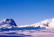 italy, gran sasso e monti della laga national park, corno grande