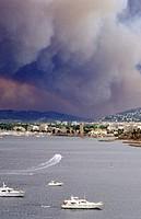fire, coast