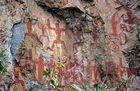 asia, china, guang xi, haushan, rock art park
