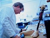 Prosthetics technician