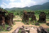asia, vietnam, cham ruins, my son unesco world heritage site
