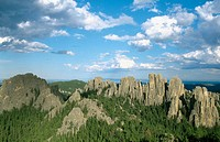 Black Hills. South Dakota. USA