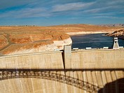 Glen Canyon dam. Page. Arizona, USA