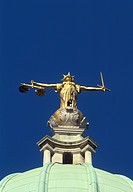 Scales of Justice, Old Bailey, London, England