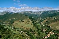 Val de Baró, Liébana valley. Cantabdia, Spain