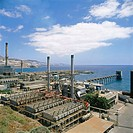 Desalination plant, Jinamar. Gran Canaria, Canary Islands. Spain