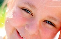 Close-up of a girl's face (thumbnail)
