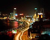 The Bund, Huangpu River, Shanghai, China