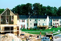New home construction subdivision , Anne Arundel County, Maryland