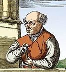 Paracelsus (1493-1541), Swiss alchemist and physician. Born Theophrastus Bombastus von Hohenheim, Paracelsus was a name he gave himself, meaning bette...