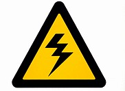 High tension, danger sign