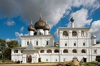Resurrection Monastery (1674-77), Uglich. Golden Ring, Russia