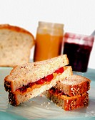 Peanutbutter and jelly sandwich