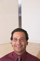Close up portrait of businessman
