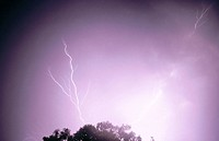 Lightning. Tepuis. Venezuela
