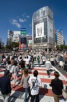 Shibuya district, Tokyo. Japan