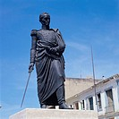 Simon Bolivar Statue La Guaira Venezuela